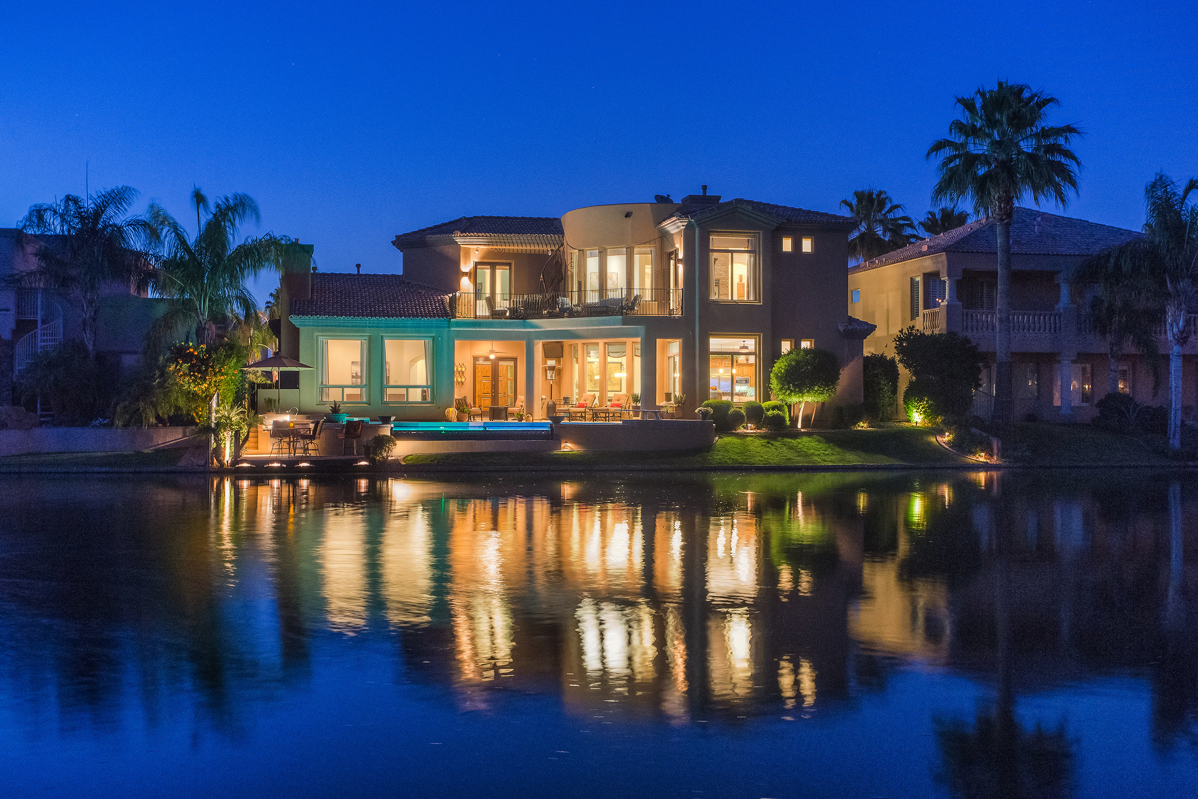 chandler waterfront luxury real estate photography arizona real
